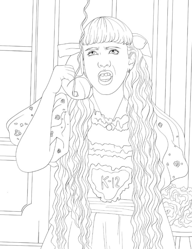 K-16 Coloring Book  Book by Melanie Martinez  Official Publisher
