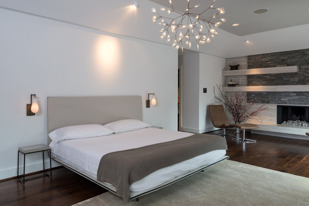 how to light a modern bedroom