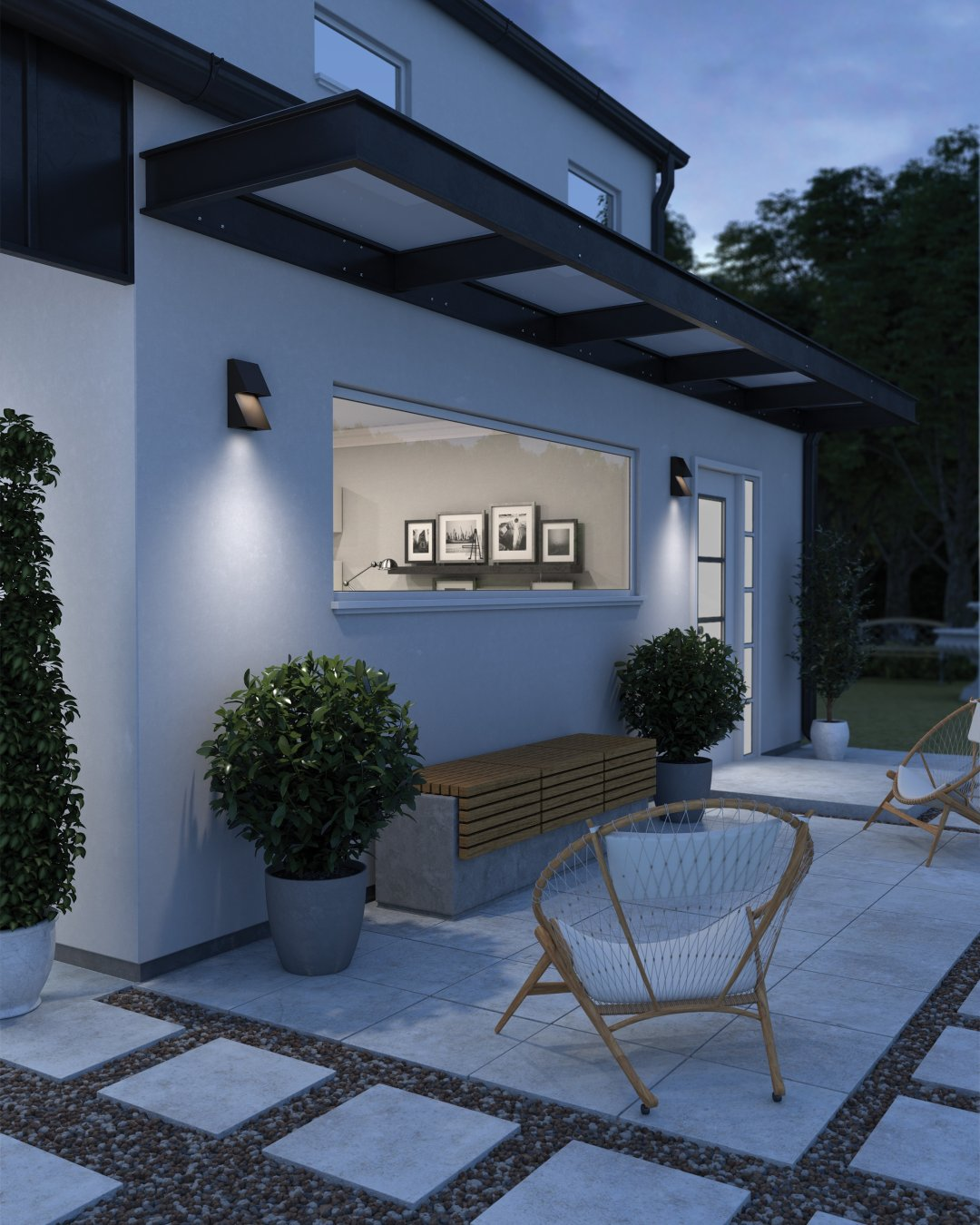 the benefits of outdoor lighting and
