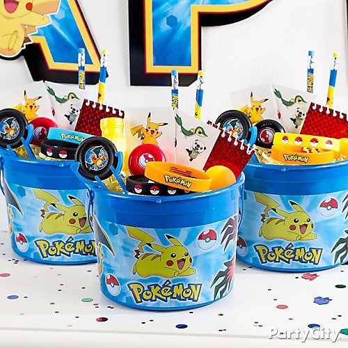 Pokemon Pikachu Table Decorating Kit Birthday Party Supplies Center Piece Party Decorations Patterer Home Garden