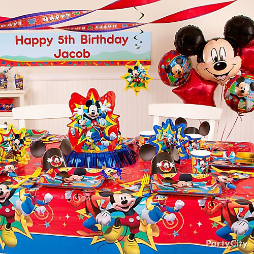 Mickey Mouse Birthday Party Ideas Party City
