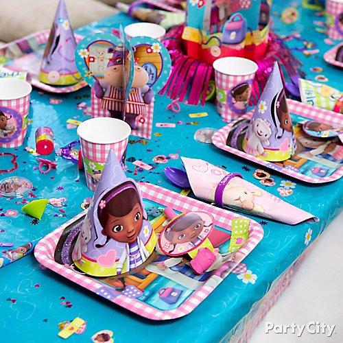 Doc Mcstuffins Party Ideas Party City