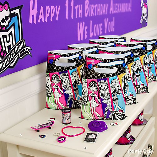 Monster High Party Ideas Party City