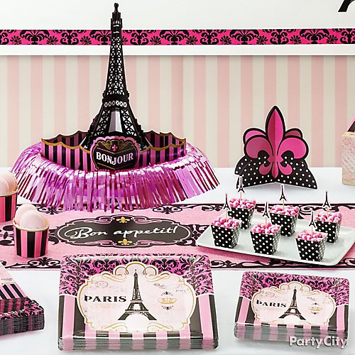 Day In Paris Party Ideas Party City