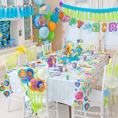 Bubble Guppies Party Ideas Party City