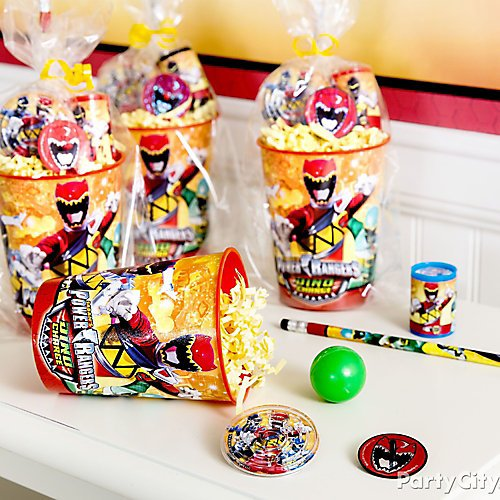 Power Rangers Party Ideas Party City