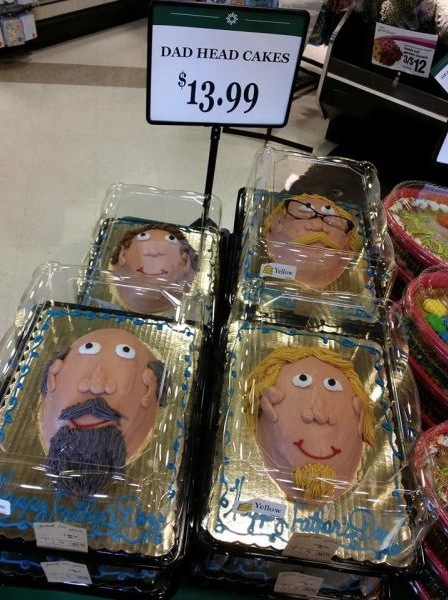 Happy Father S Day Dad Head Cakes At Walmart Bakery