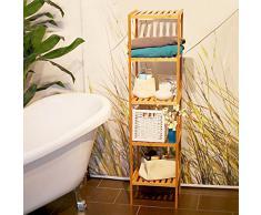 etagere sur pied salle de bain