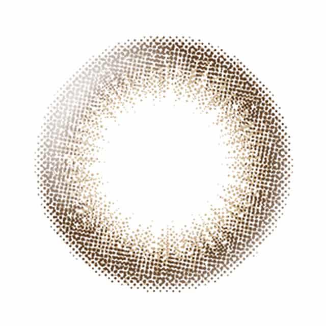 デコラティブアイズヴェール ルーセントブラン レンズ画像