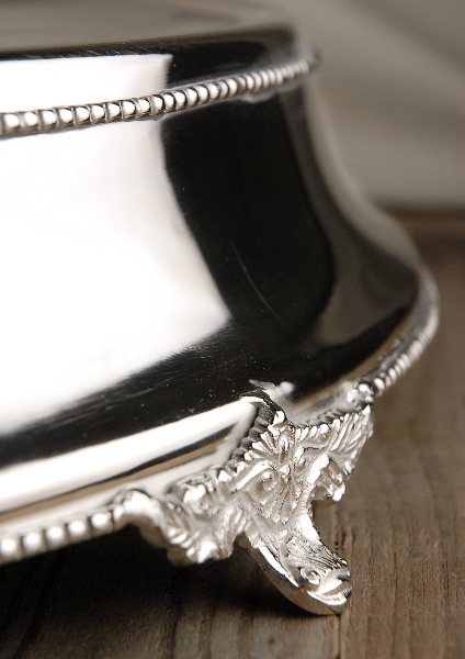 Silver Plated Wedding Cake Stand