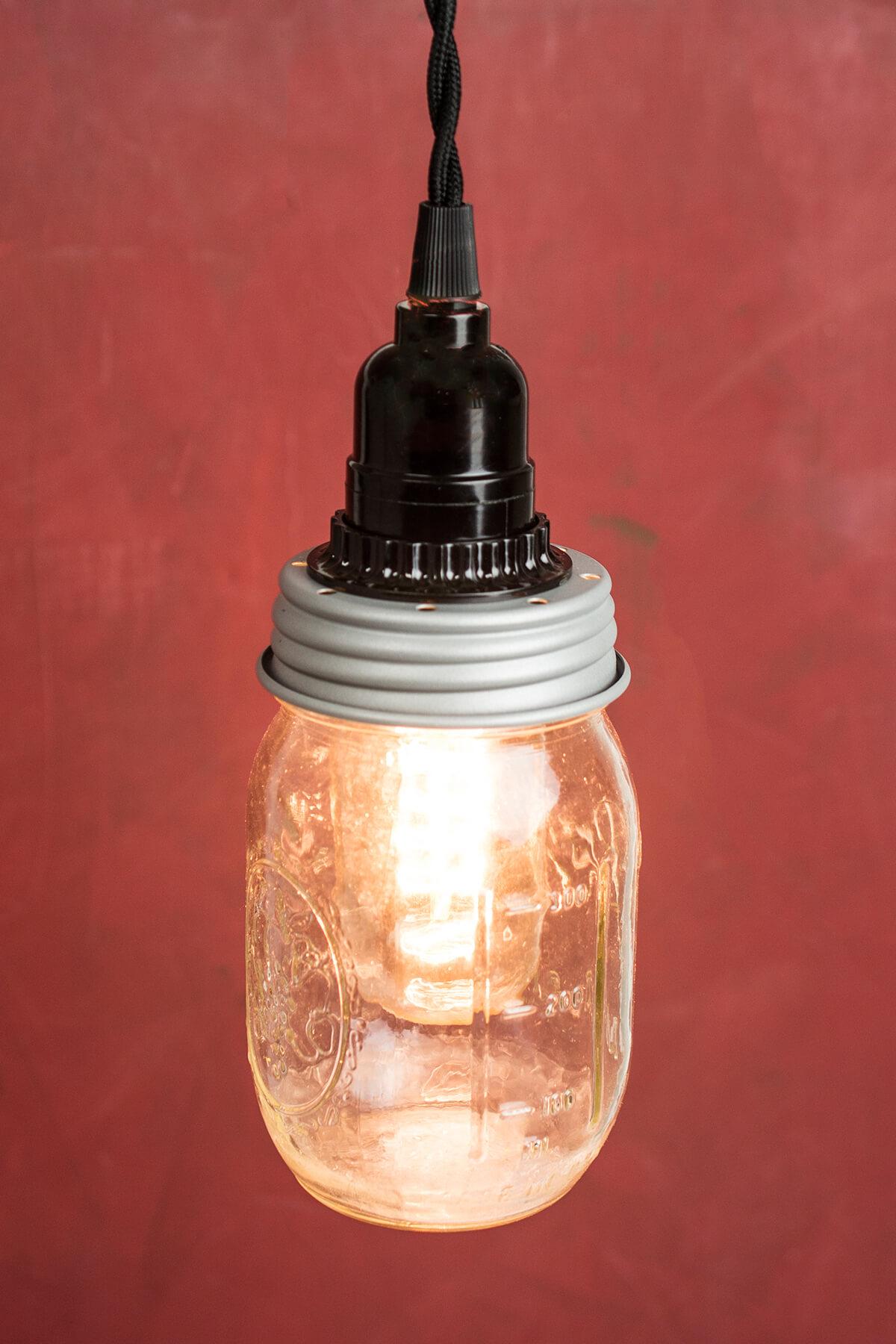 Cleveland Vintage Lighting Mason Jar Adapter Socket Cord
