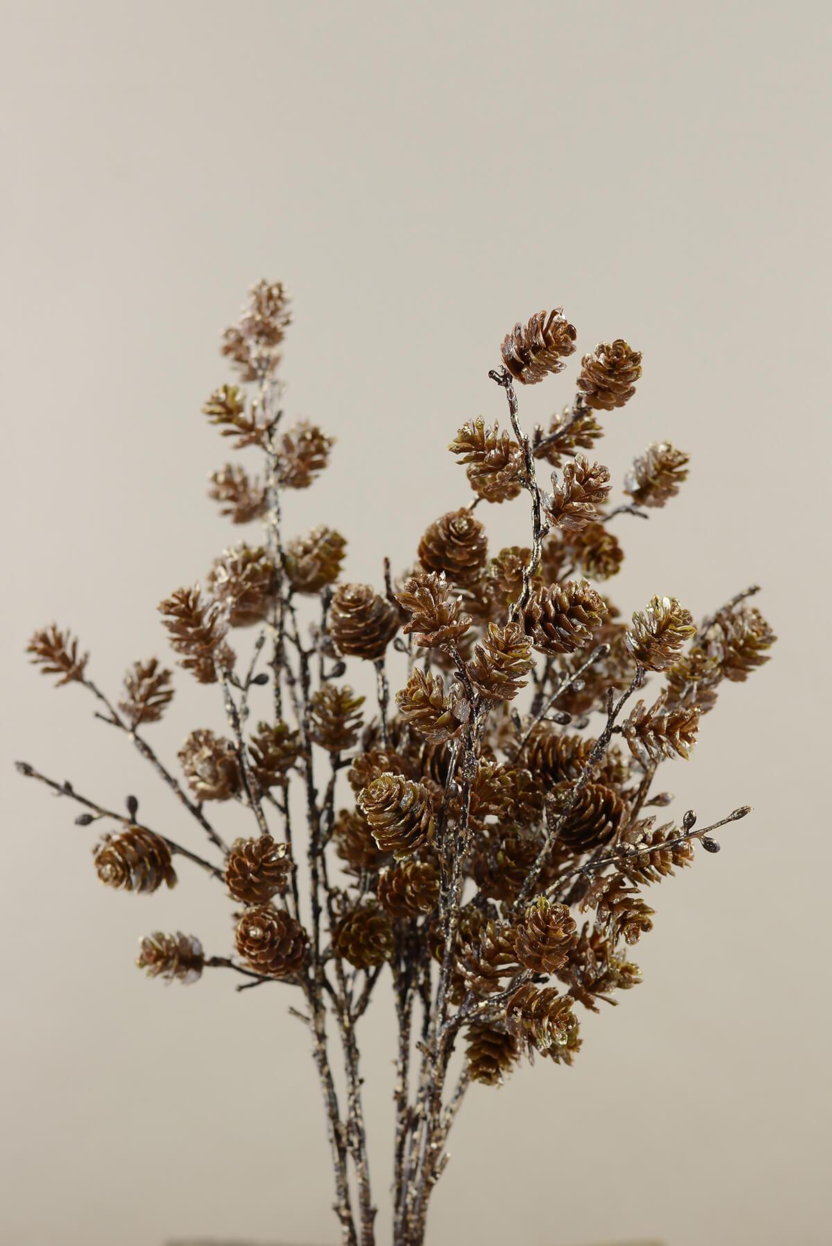 6 15 Natural Pine Cone Floral Picks