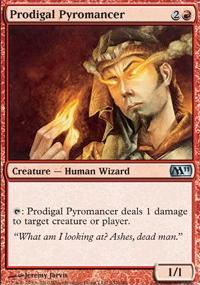MTG Card: Prodigal Pyromancer
