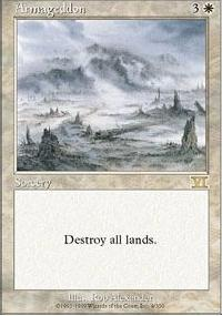 MTG Card: Armageddon