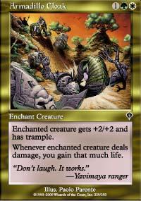 MTG Card: Armadillo Cloak