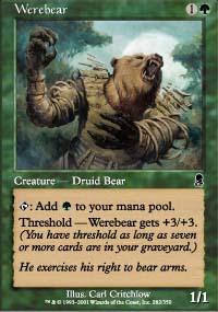 MTG Card: Werebear