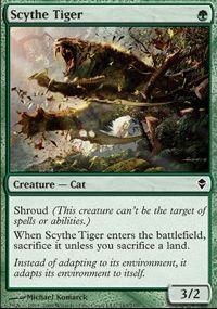 MTG Card: Scythe Tiger