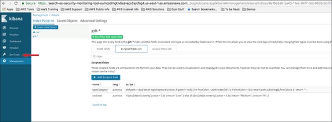 "Figure 10: Select ""Dev tools"""
