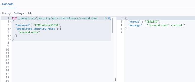 Figure 9: API to create User