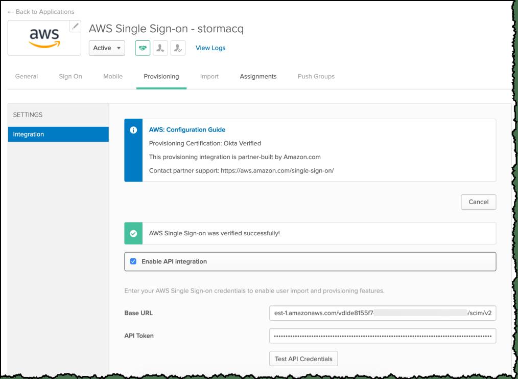 Okta API Integration