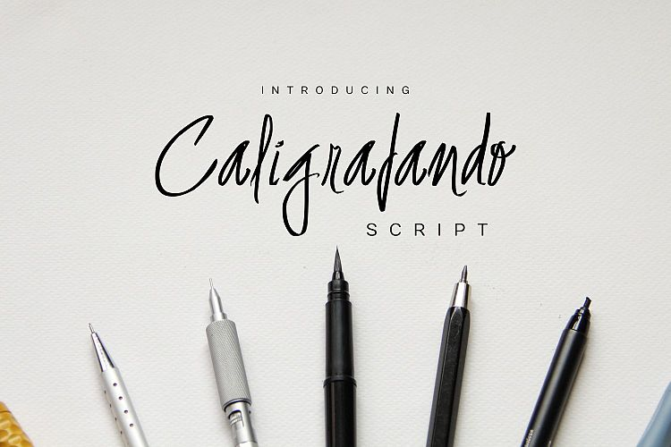 Free Caligrafando Script Fontscripts