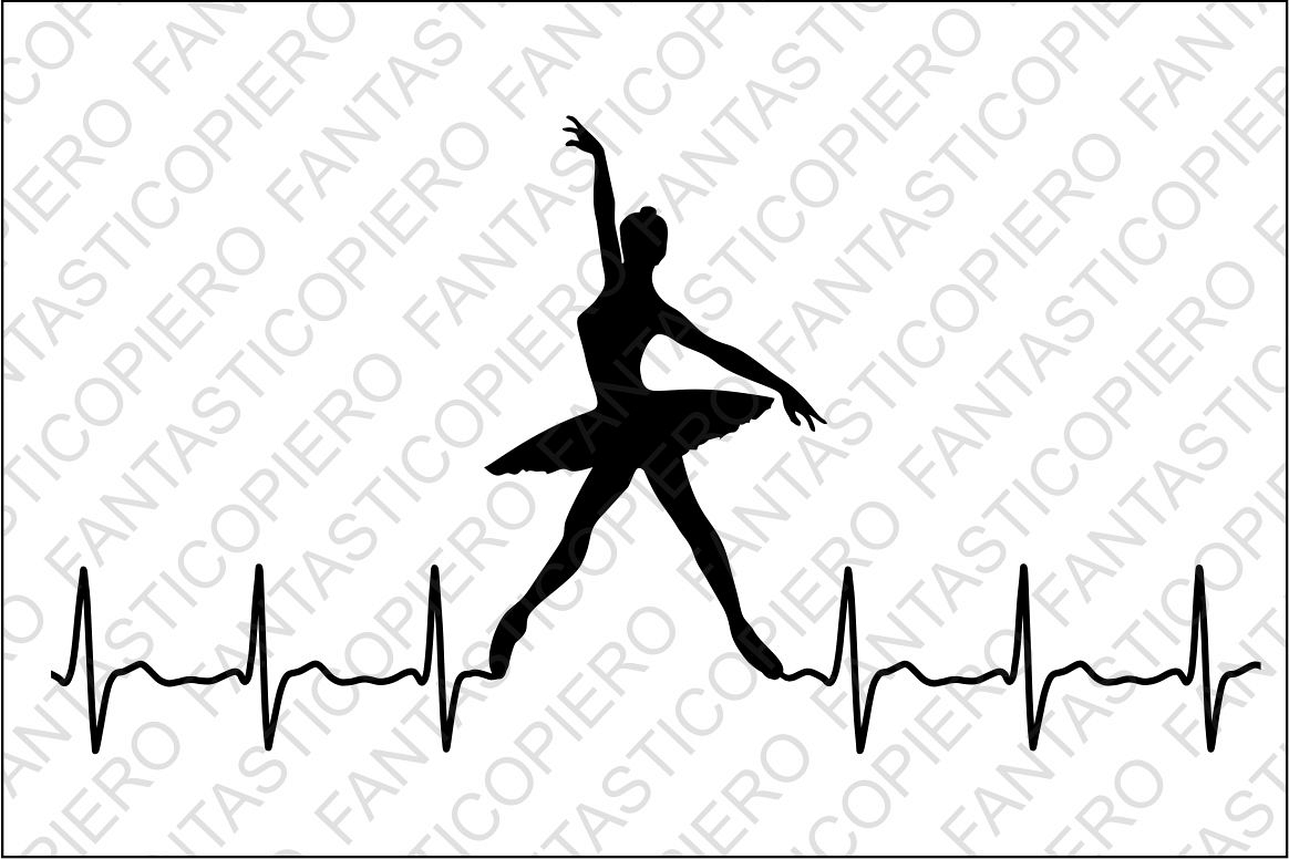 Cardio Modern Dancers Svg Files For Sil