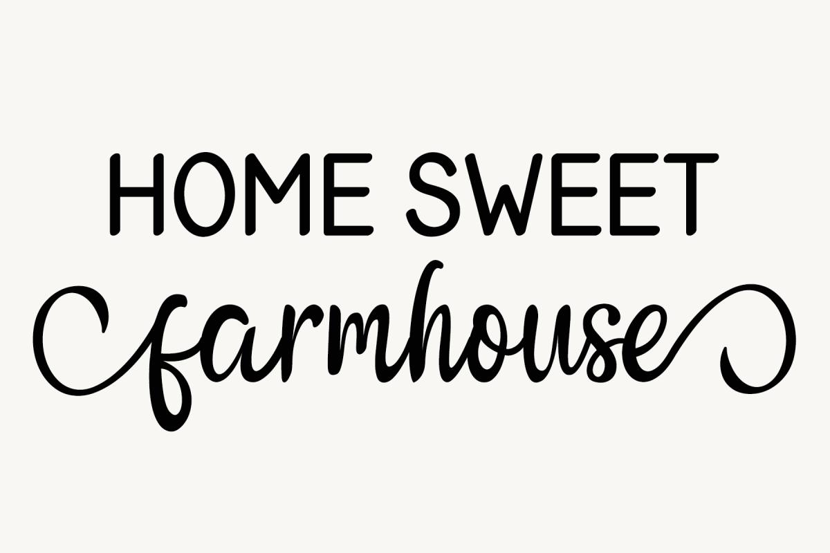 Home Sweet Farmhouse By Bean Amp Bird