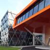Aeroporto convertido em centro de negócios de tecnologia por arquitetos noruegueses painéis de acm