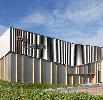 Centro Comunitário Het Anker Faz Declaração Com Alucobond Metálico painéis de acm
