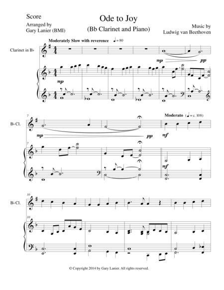 Joyful Joyful We Adore Thee Chords For Clarinet