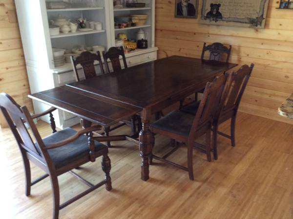 1920s Thomasville Dining Set Questions My Antique