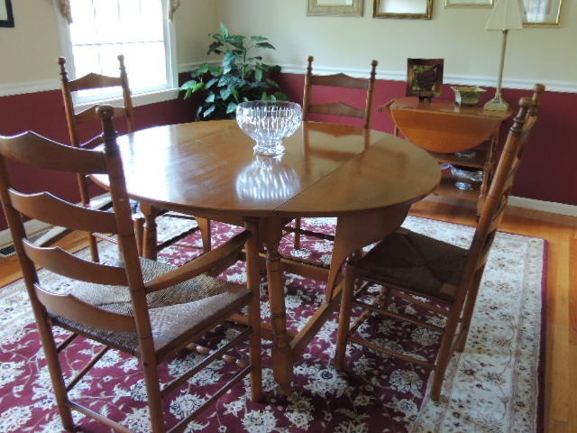 Looking For Value Of A Whitney Heirloom Solid Maple Dining