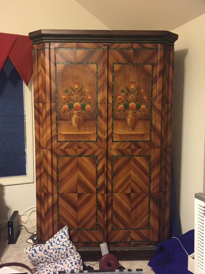 Matching Armoire And Dresser