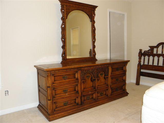 Link Taylor King Size Solid Oak Bedroom Suite My Antique