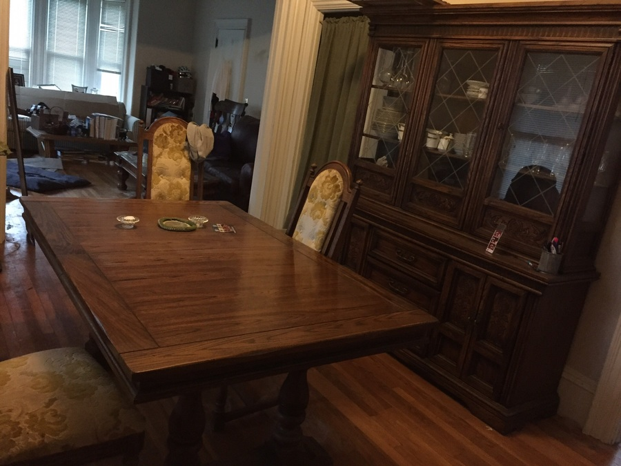 I Have A 1970 S Burlington House Dining Room Set In Very