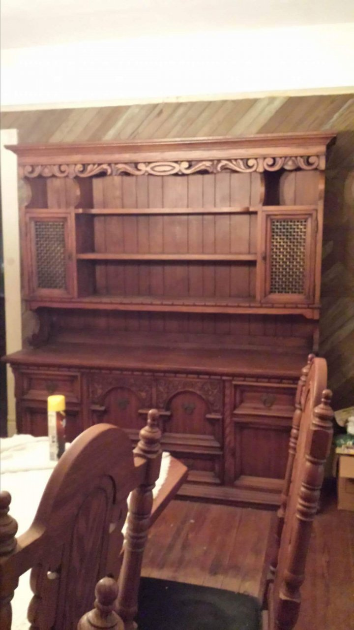 Link Taylor Dining Set And Hutch My Antique Furniture