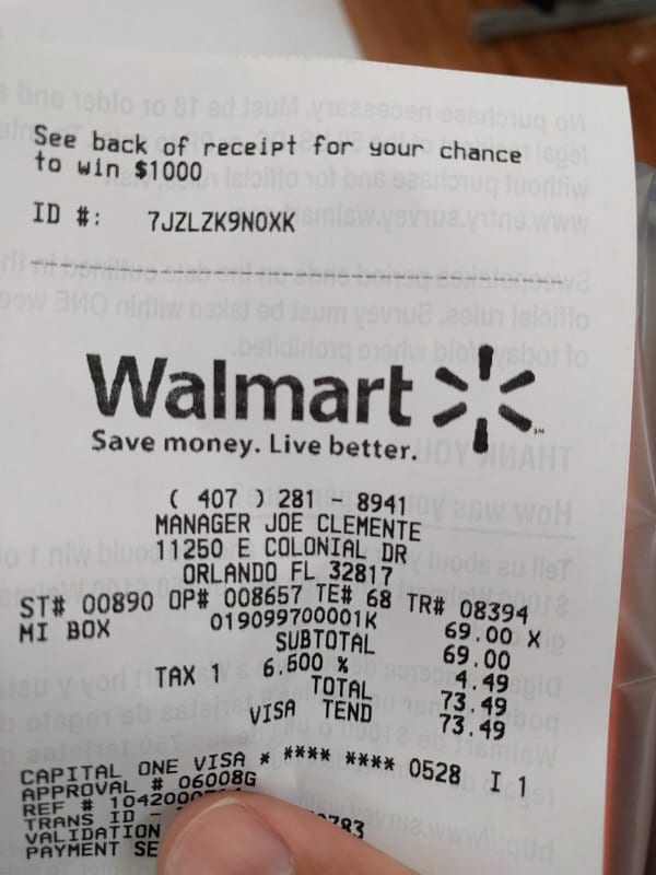 After Checking Her Walmart Receipt This Woman Made A