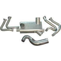 power flow exhaust system for mooney
