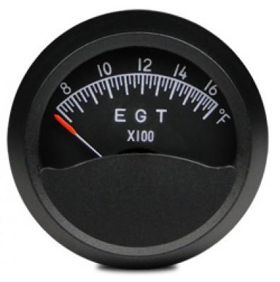 swift 2 inch round exhaust gas temperature gauge 700 1700 f