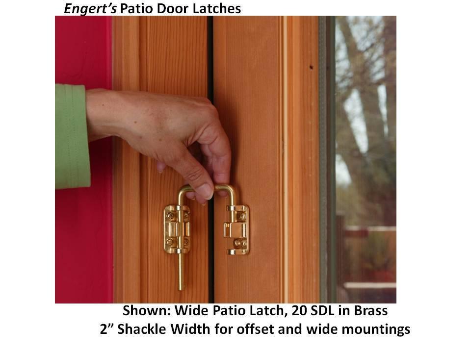 patio door latch collection