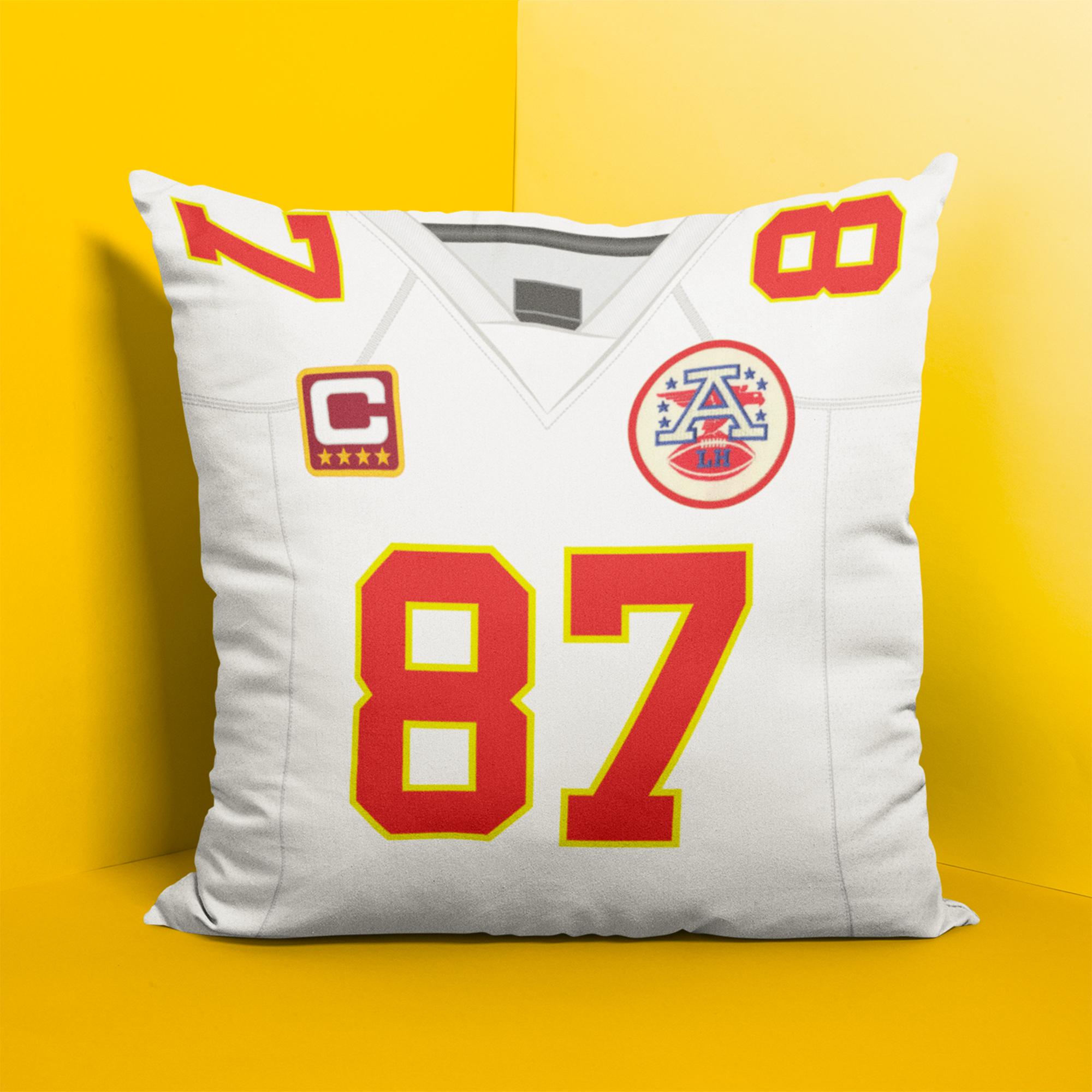 kansas city chiefs personalized pillow