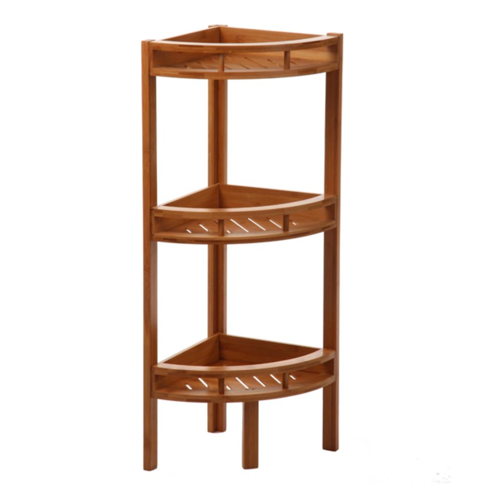 etagere d angle salle de bains bambou ref 20014736