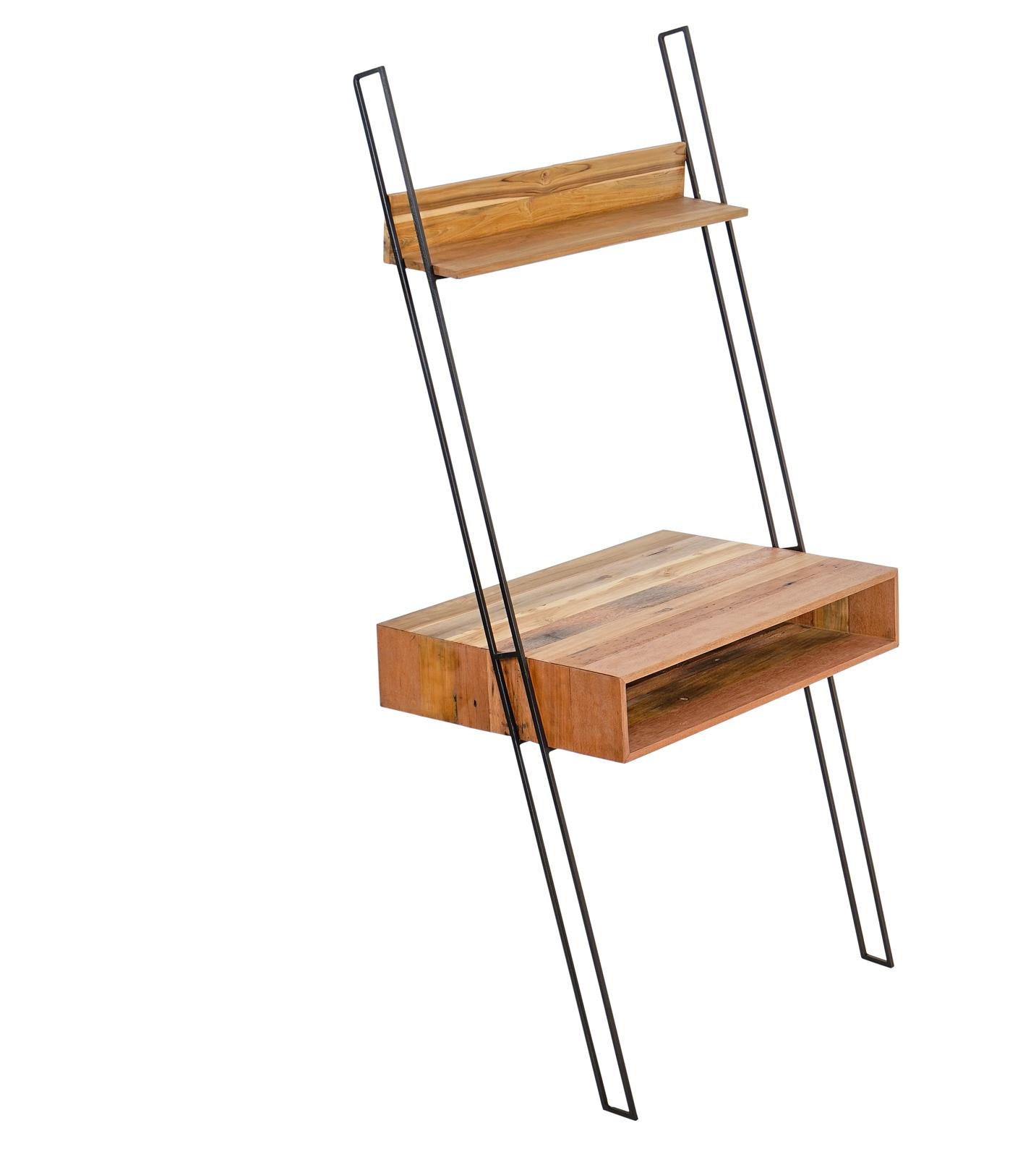 etagere echelle bois reycle 1 caisson sampan