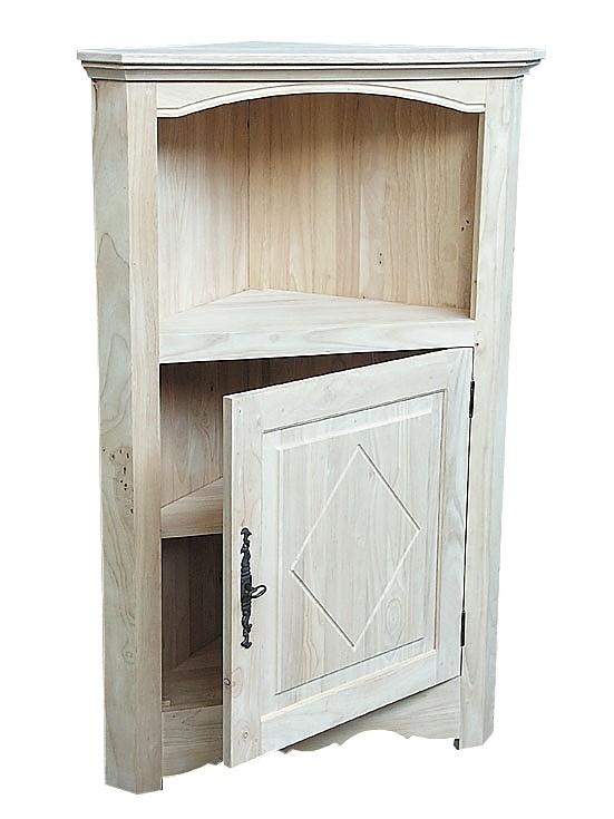 meuble d angle hevea 78x45x123cm tradition