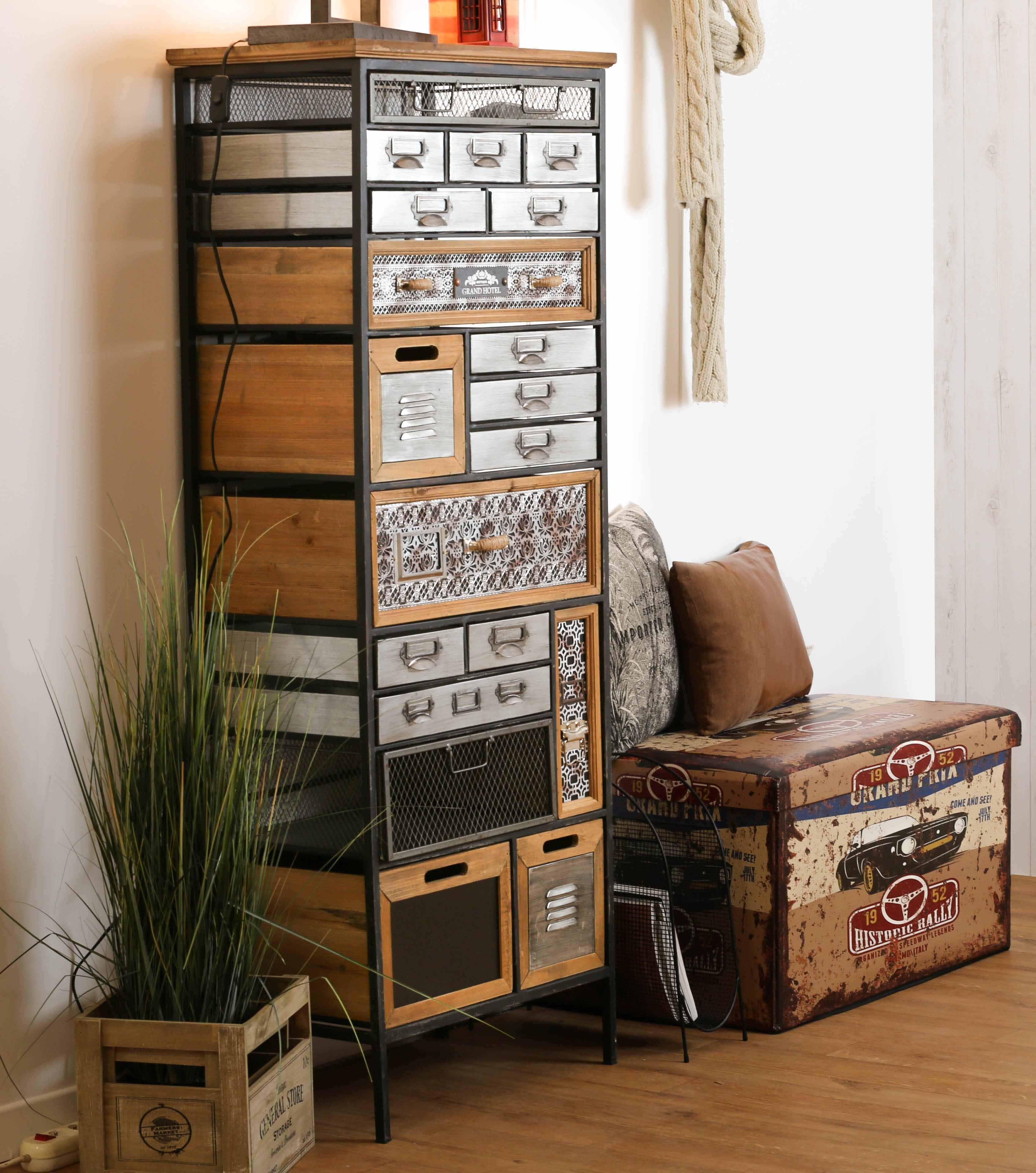 meuble d apothicaire 19 tiroirs lamphun