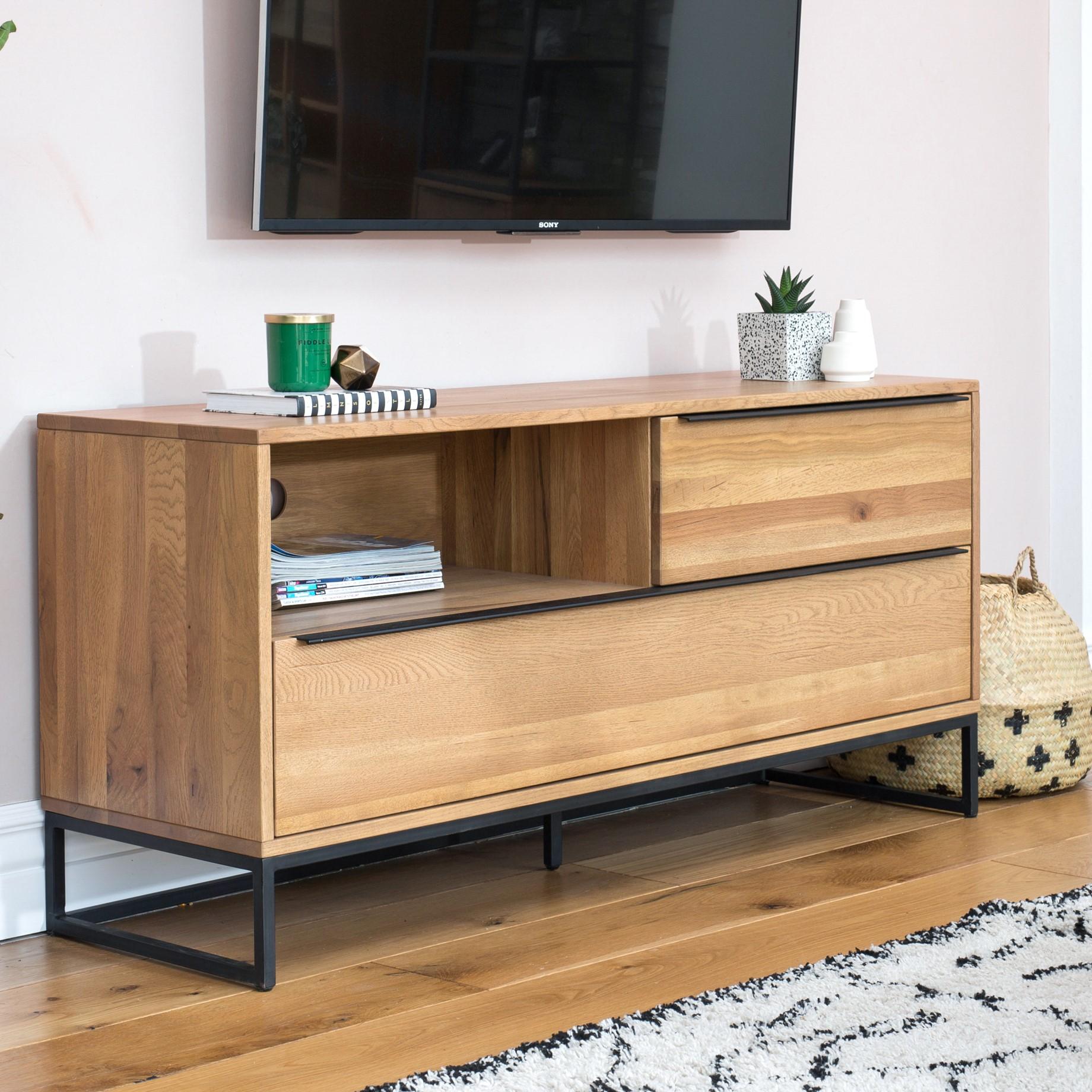 meuble tv avec rangement volga