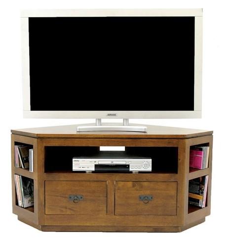 meuble tv d angle hevea 120cm helena