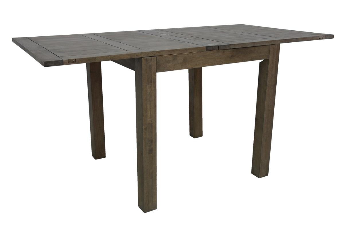 table de bar hevea extensible 90 180x90x92cm attan