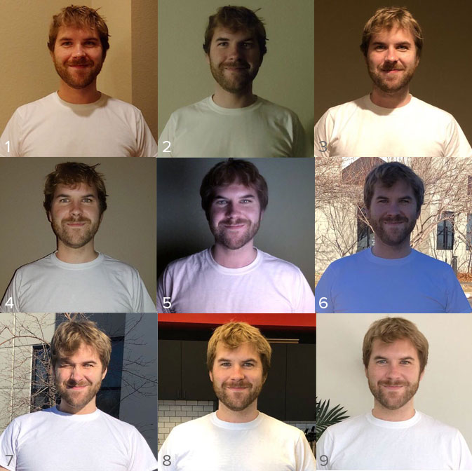 how lighting changes what you look like