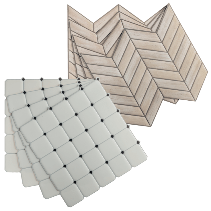 32 pack roommates sticktiles peel and